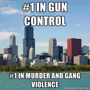 446 school age children shot in Chicago so far this year with strongest gun laws in country