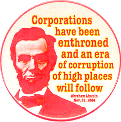 Corporations Enthroned