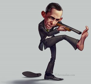 Obama Shoots Himself in the Foot