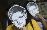 Brazilian Senators Don 'Snowden' Masks