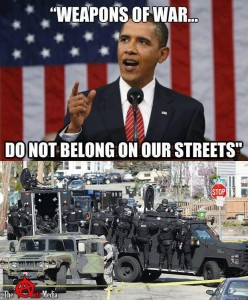 Thousands of Martial Law Now In Effect Signs spotted by the truck load in Illinois