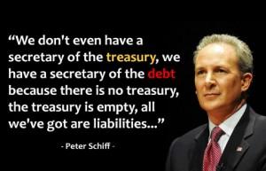 Peter Schiff On Debt