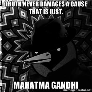 Ghandi Truth