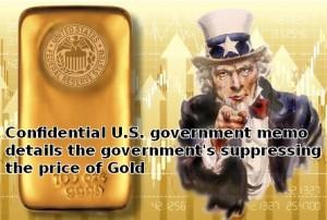 US Gold Price Suppression
