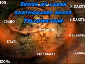 Yellowstone Quake Radius