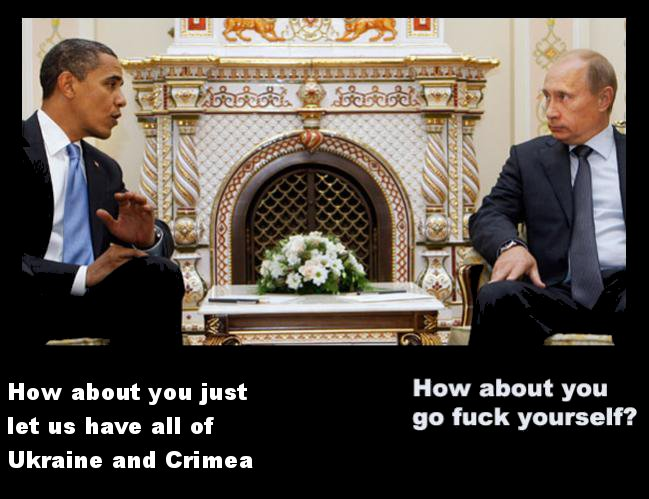 "Obama And Putin Are Trapped In A Macho Game Of ""Chicken"" And The"