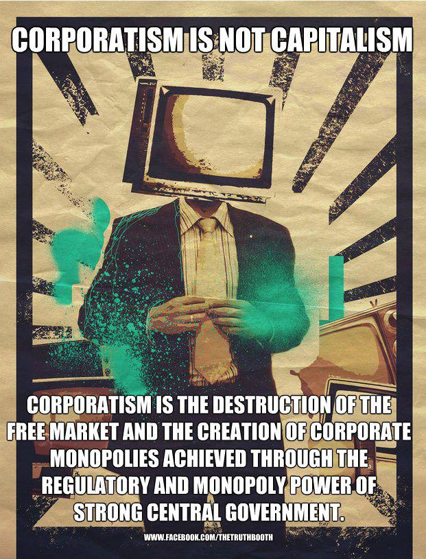 Free market capitalism vs. State capitalism