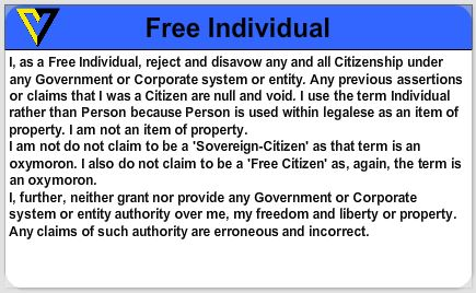Free Individual ID Card