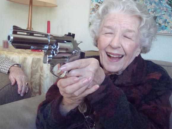 Pistol Packing Granny